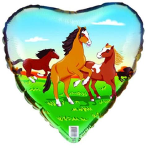 F Сердце Лошади, 18''/46 см, 1 шт.