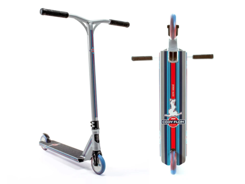 Самокат Lucky Cody Flom Signature Pro Scooter Silver/Blue/Red