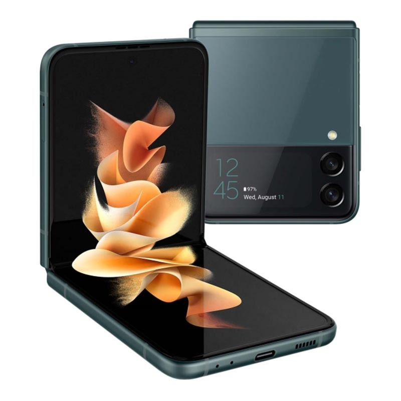 Samsung Galaxy Z Flip 3, 8/256 ГБ, зеленый