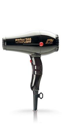 Фен Parlux 385 Power Light, 2150 Вт, ионизация, 2 насадки, черный