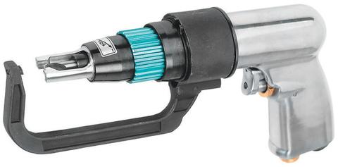 JAD-1015K Набор дрель пневматическая для удаления сварочной точки 1800 об/мин. с аксессуарами, 9 предметов