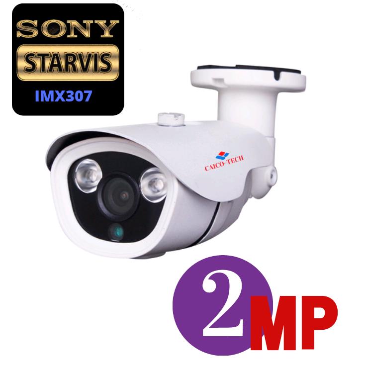 Уличная видеокамера для видеонаблюдения CAICO TECH DSV-40A CMOS SONY IMX 307; (2.0)Mpix AHD, TVI, CVI, CVBS, 4в1