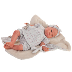 Munecas Antonio Juan Кукла-младенец Reborn Амалия в голубом 52см (8162)