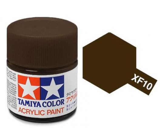Tamiya Акрил XF-10 Краска Tamiya, Коричневый Матовый (Flat Brown), акрил 10мл import_files_b9_b9307efd5a8411e4bc9550465d8a474f_e3fbec385b5511e4b26b002643f9dbb0.jpg
