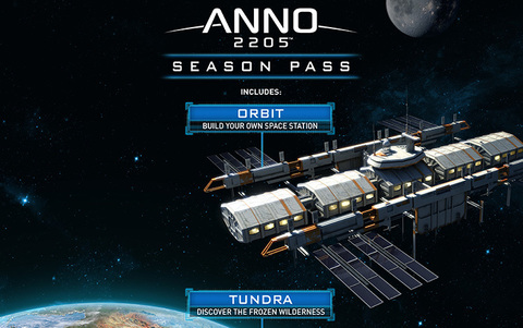 Anno 2205 - Season Pass (для ПК, цифровой ключ)