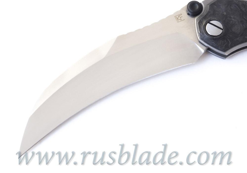 CKF Krokar CF knife (Konygin, Ti, CF, Zirc, M390) - фотография
