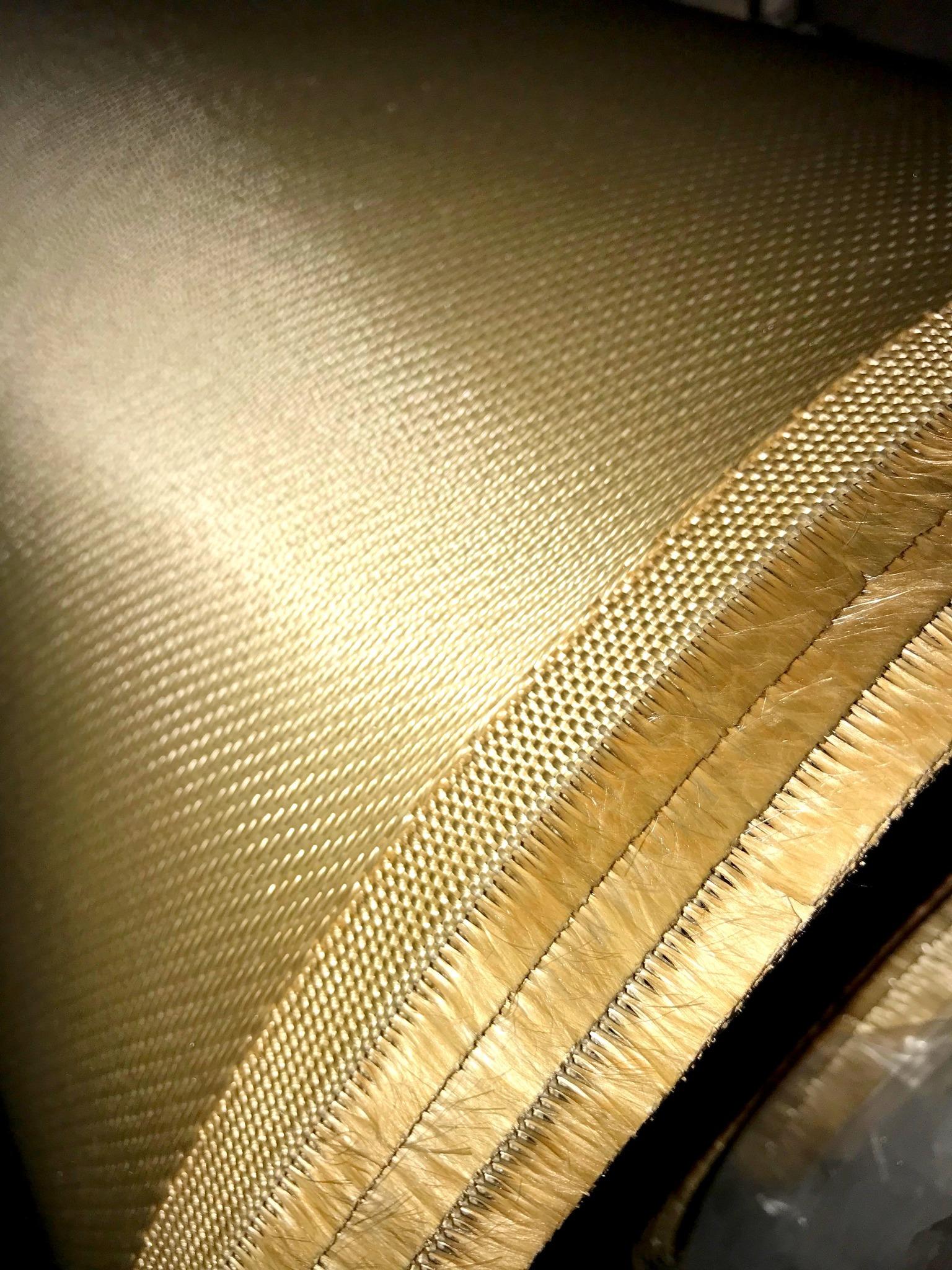кремнеземная ткань с вермикулитом