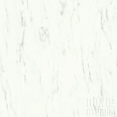 ПВХ-плитка Quick-Step QS LIVYN Ambient Click AMCL 40136 Мрамор каррарский белый