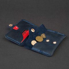 Гаманець Ergo+ з відділом для монет, натуральна шкіра, ручна робота