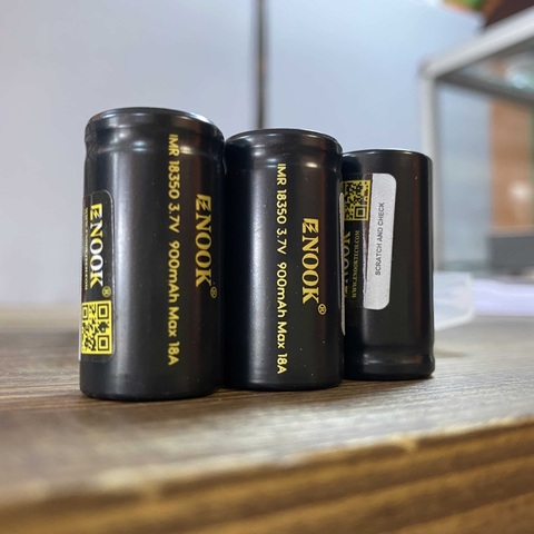 Аккумулятор ENOOK 18350 15A 900mah