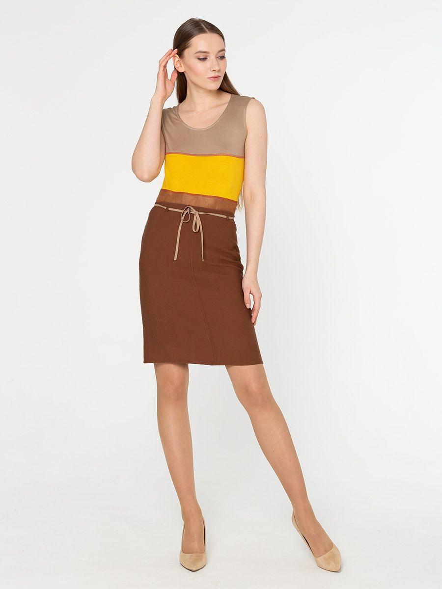 Юбка Б785-178 - Прямая юбка на лето. Прекрасно подойдет как для офиса так и для повседневной жизни
