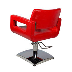 Парикмахерское кресло МД-182 гидравлика хром, квадрат хром