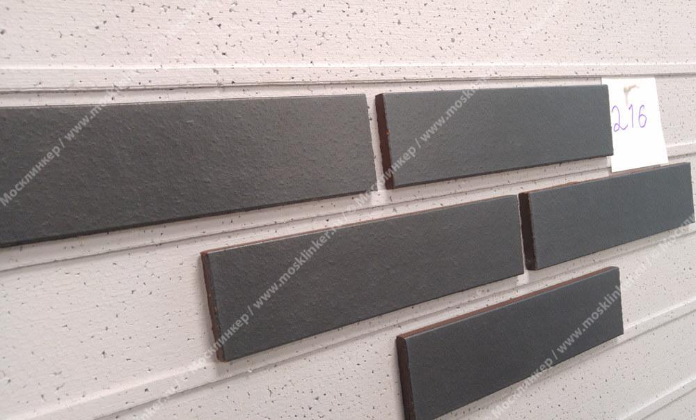 King Klinker - Polar night (08), Dream House, 65x250x10, RF - Клинкерная плитка для фасада и внутренней отделки