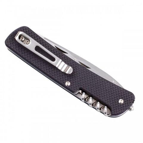 Нож Ruike L21-N, 12 функций, коричневый