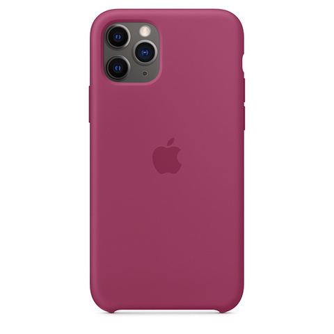 Чехол IP11 PRO MAX Silicone Case Pomegranate