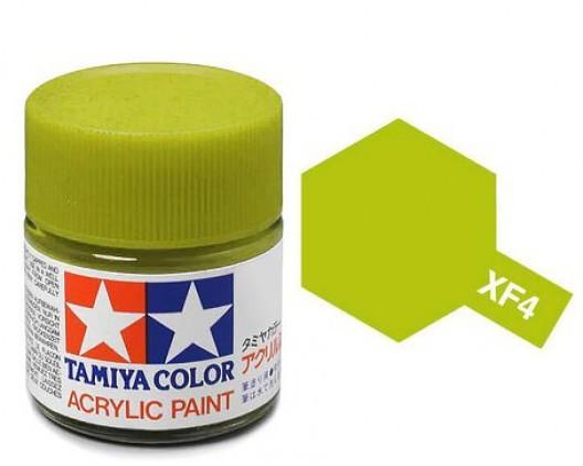Tamiya Акрил XF-4 Краска Tamiya, Желто-зеленый Матовый (Yellow Green), акрил 10мл import_files_b9_b9307ef85a8411e4bc9550465d8a474f_e3fbec4d5b5511e4b26b002643f9dbb0.jpg