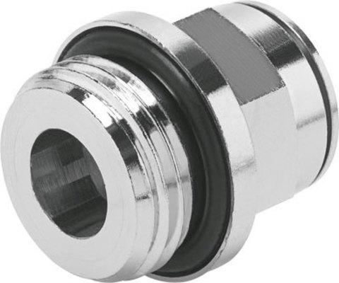 Штуцер цанговый Festo NPQM-D-G12-Q10-P10 (комплект 10 шт)