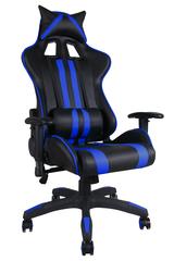 Кресло iИкар (Car) — черный/синий