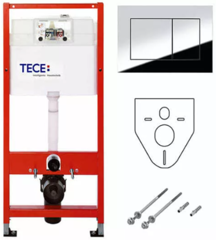 Инсталляция для унитаза TECE TECEnow/TECEprofil 9400012