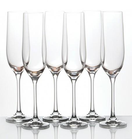Набор бокалов для шампанского «Виола» 190 мл