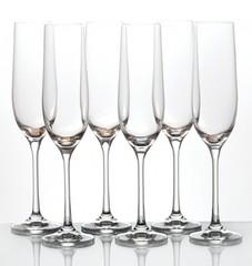 Набор бокалов для шампанского «Виола» 190 мл, фото 2