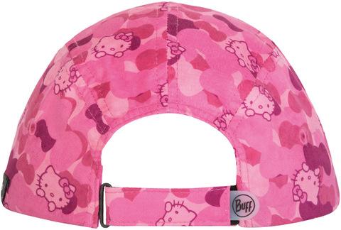 Кепка детская Buff 5 Panels Cap Camo Pink фото 2