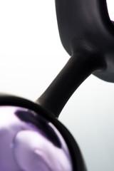 Вагинальные шарики в силиконовой оправе