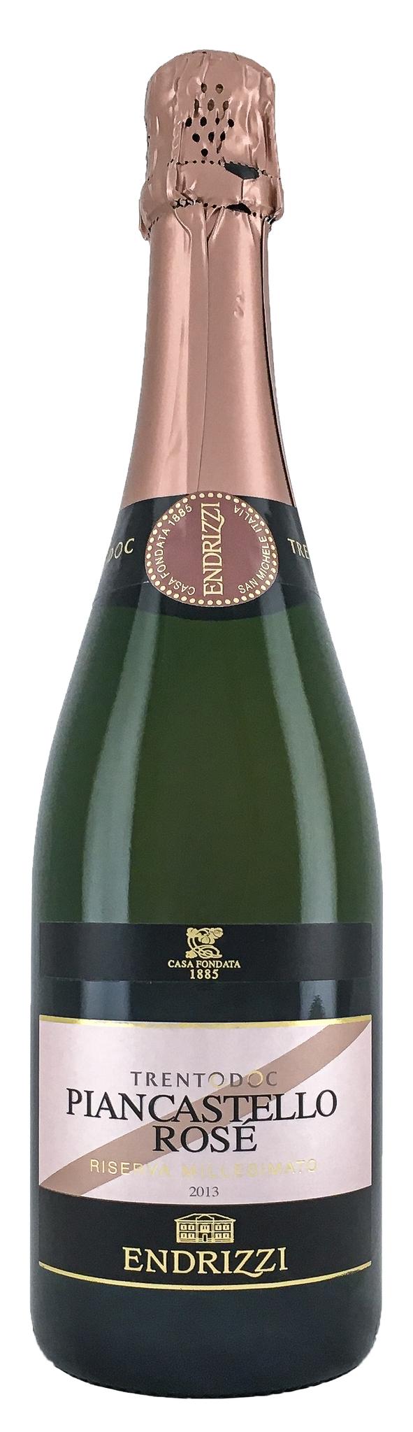 Вино Пианкастелло Классический метод Тренто Резерва Розе игрист.сух.роз.з.н.м.п. рег.Трентино 0,75л.