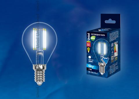 LED-G45-6W/NW/E14/CL PLS02WH Лампа светодиодная. Форма