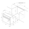 Встраиваемый духовой шкаф Kuppersberg SR 663 B - схема