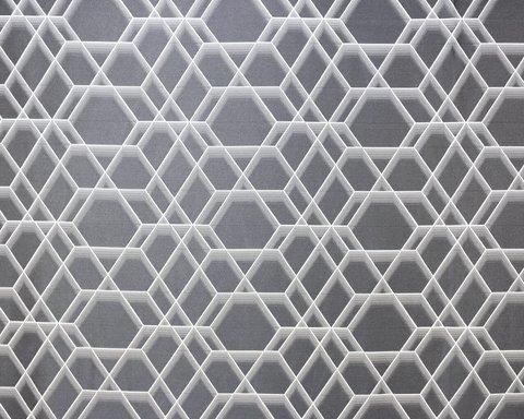 Портьерная ткань Реалити темно-серый