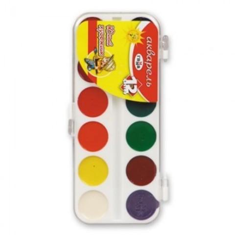Акварельные краски Гамма Юный художник медовые 12 цветов