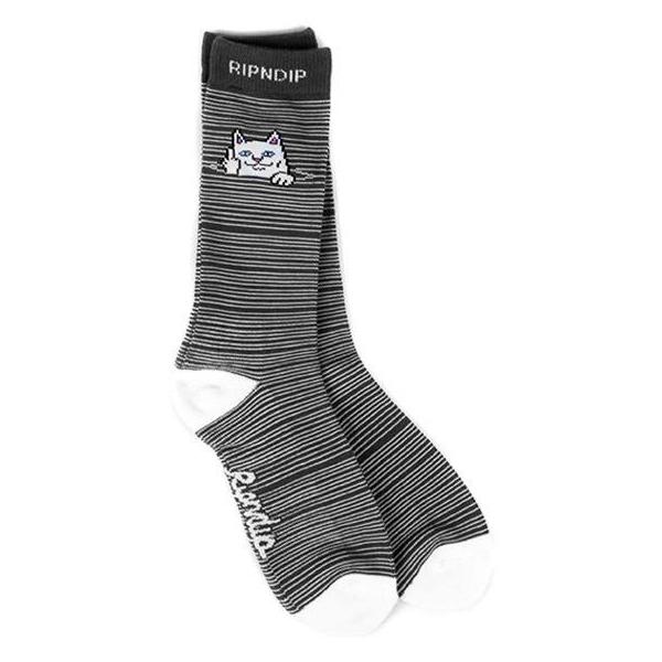 Носки RIPNDIP Peek A Nermal Socks (Black)