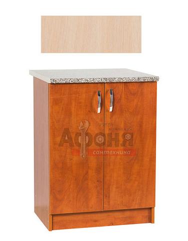 Рабочий стол  60 цвет дуб млечный,стол. ГРАНИТ (ЛДСП)