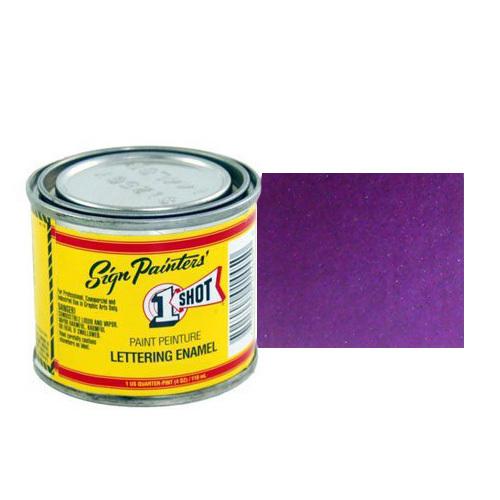 Эмали для пинстрайпинга 962-P Эмаль для пинстрайпинга 1 Shot Перламутровый Фиолетовый (Purple), 236 мл Purple.jpg