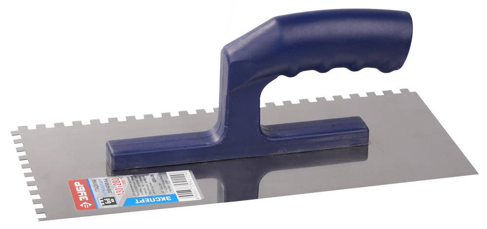 Гладилка ЗУБР зубчатая, 6х6 мм