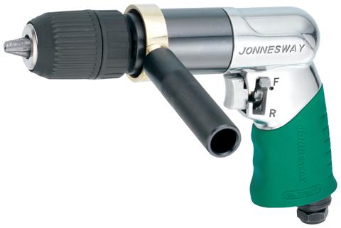 JAD-1027 Дрель пневматическая с реверсом 800 об/мин., быстрозажимной патрон 1-13 мм