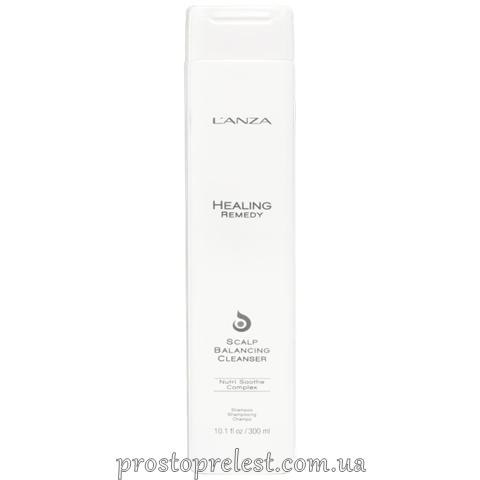 L'anza Healing Remedy Scalp Balancing Cleanser – Очищуючий шампунь для волосся і шкіри голови, відновлюючий баланс