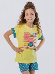 Костюм детский супрем футболка + шорты для девочки купить