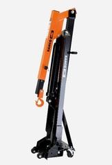 Кран гидравлический складной, 1 т., подъем 2м, BAHCO