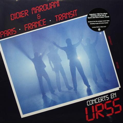Didier Marouani & Paris - France - Transit / Concerts En URSS (2LP)