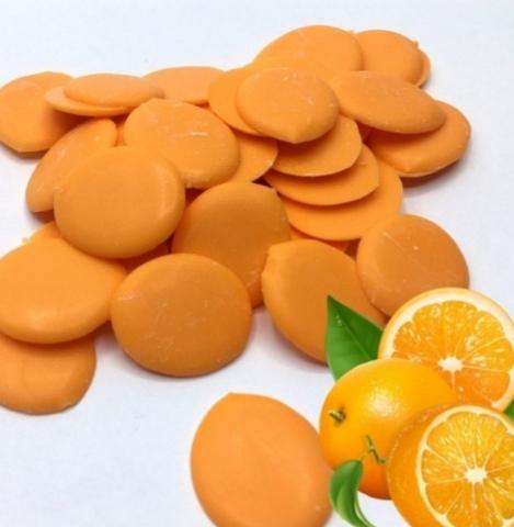 Глазурь кондитерская Шокомилк со вкусом апельсина, 100г