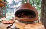 Дровяная печь для пиццы Лигурия большая