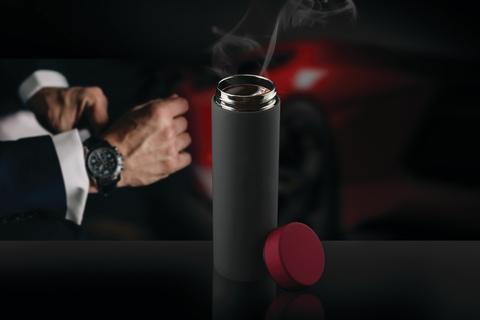 Термос Asobu Le Baton Travel (0,5 литра), серый/красный