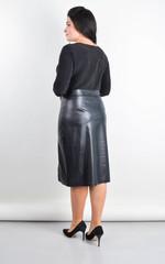 Лідія. Сукня плюс сайз для свята. Чорний.
