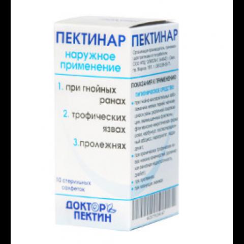 Пектинар Гигиен ср-во (салфетки) 10шт