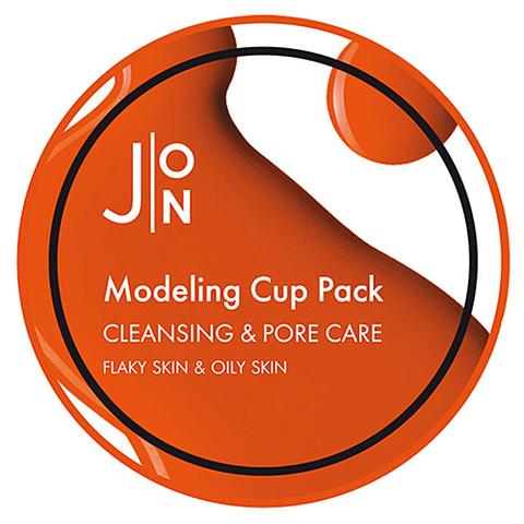 Альгинатная маска для лица ОЧИЩЕНИЕ/СУЖЕНИЕ ПОР Cleansing & Pore Care Modeling Pack, 18 гр, J:ON