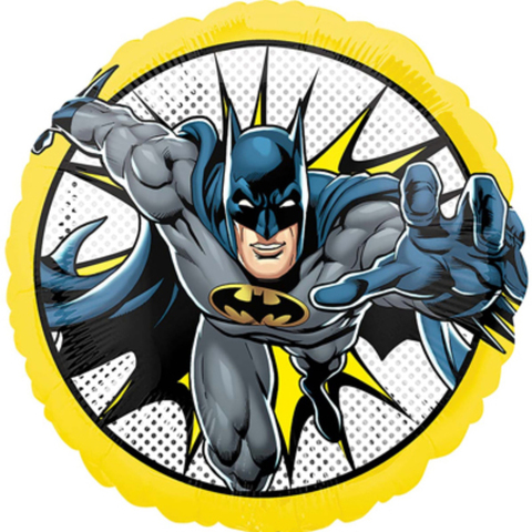 Воздушный шар круг Бэтмен, 45 см