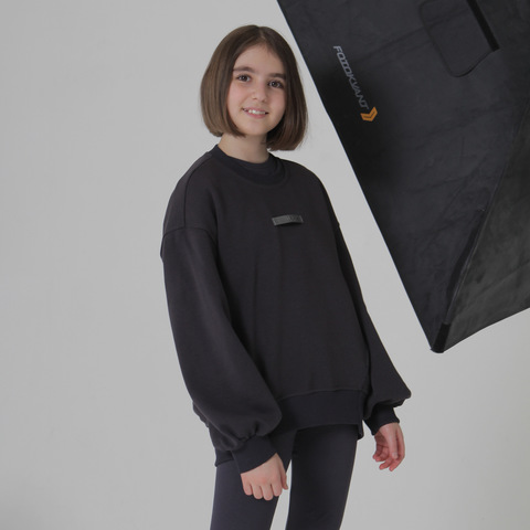 Свитшот CASUAL FOR KIDS, графит