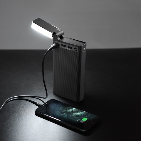 Внешний аккумулятор Hoco Premium J62 30000mAh (Черный)